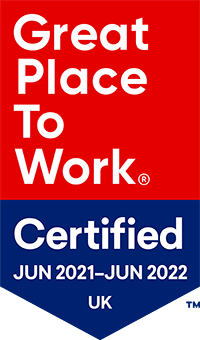 Great Place to Work Certified 2021 - 2022