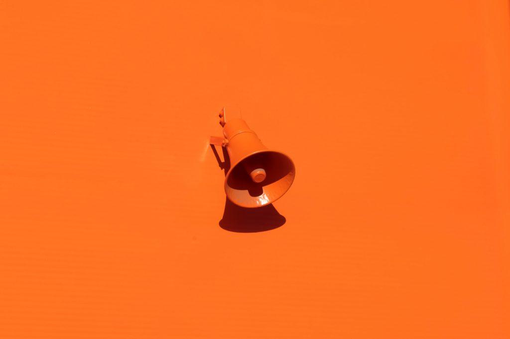 Image of a megaphone